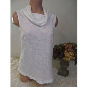Free People High Low Top Sz S Sleeveless Cowl Neck